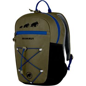 Mammut First Zip rugzak Kinderen 16L zwart/olijf